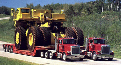 MACHINERY AND HEAVY EQUIPMENT TRANSPORT